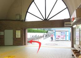 京浜急行・逗子線の新逗子駅南口